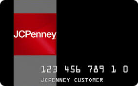 jcpenney store credit card