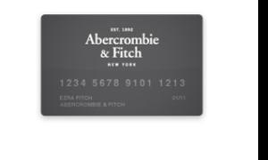 abercrombie u0026 fitch credit card