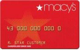 Macys Card Member Rewards Credit Card