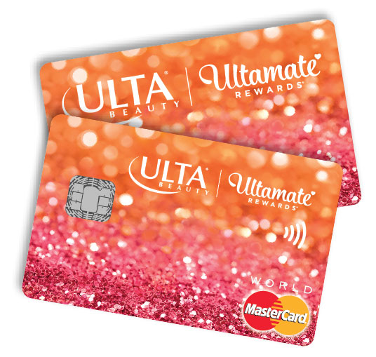 Ulta Beauty Credit Card issued by Comenity Bank.