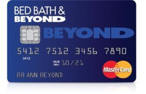 bed bath and beyond mastercard