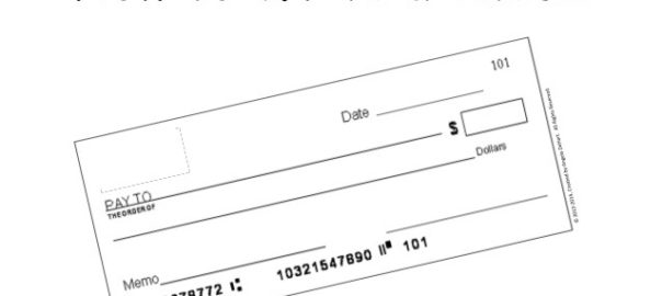 How to Write a check properly to my credit card company