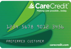CareCredit Financing Credit Card