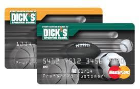 dicks sporting goods credit card review
