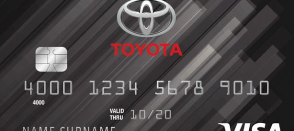toyota credit card